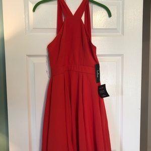 Lulus NWT mini red dress holidays! Small